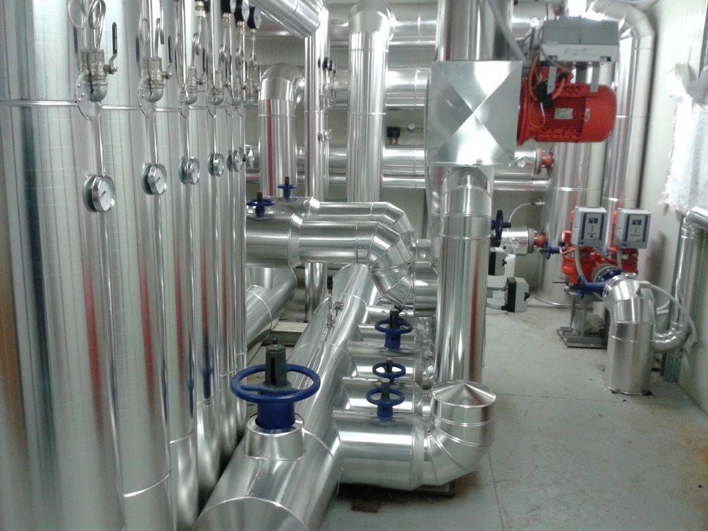 Centrale in alluminio